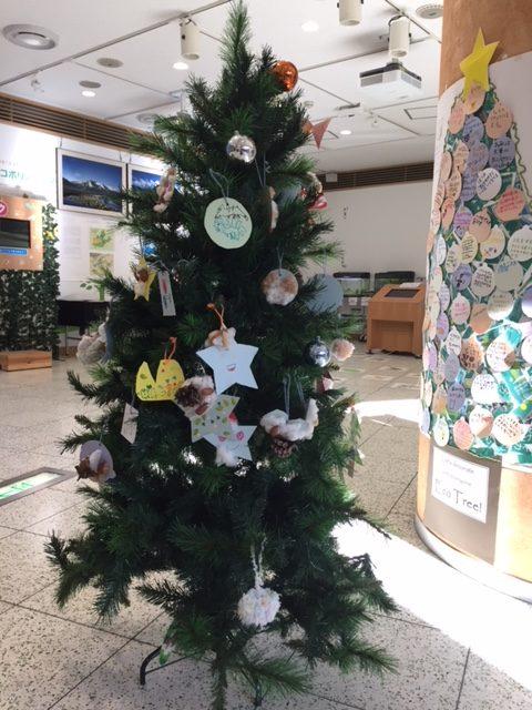 みんなでかざろう!エコポリのクリスマスツリー