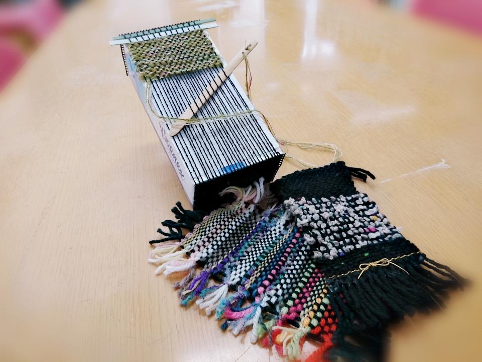 環境講座「ティッシュ箱で織り機を作ろう」参加者募集
