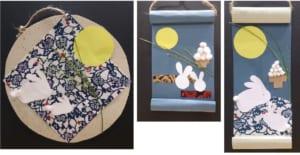 季節のわくわく工作 「お月見うさぎを作ろう♪」工作終了~作品展示は2019年9月23日(月・祝)まで