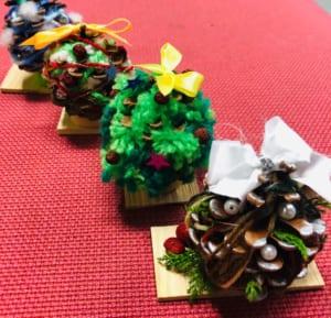 季節のわくわく工作「クリスマスの飾りを作ろう♪」12月1日~25日