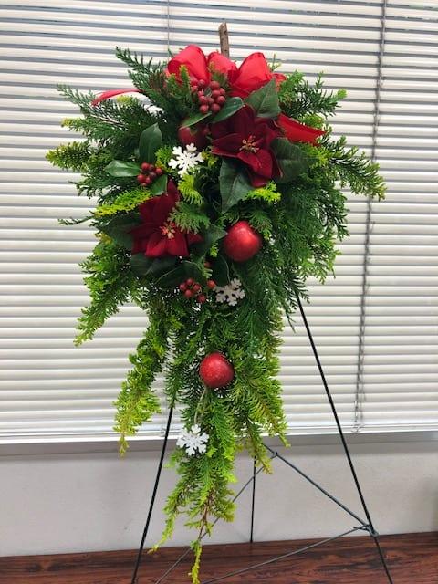 環境講座の「クリスマススワッグ」テレビ放映のお知らせ