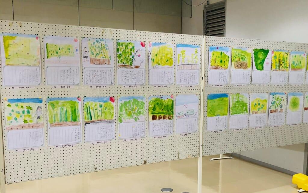 緑のカーテンコンテスト全応募作品展示