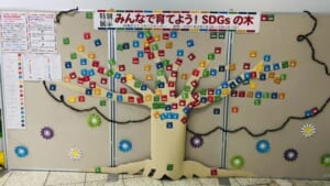 展示中「みんなで育てよう! SDGsの木」