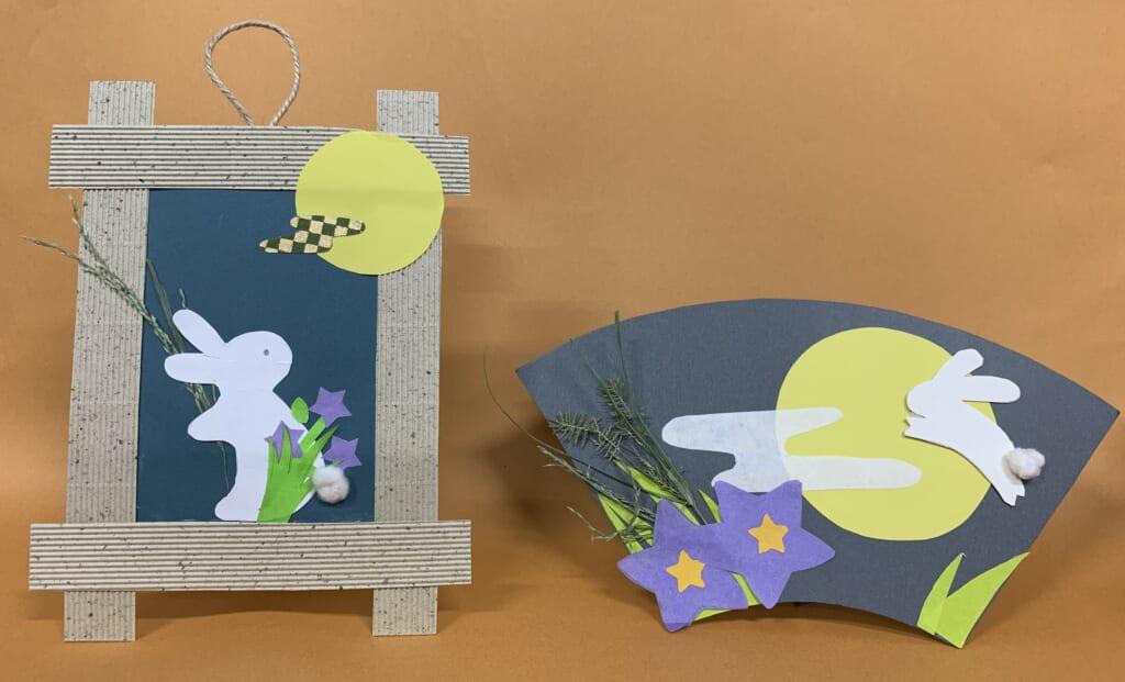 【終了しました】季節のわくわく工作「お月見うさぎを作ろう」